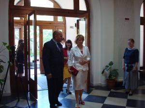 Înmânarea Diplomei de Înalt Patronaj al Majestăţii Sale Regele Mihai I